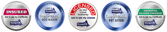 We are registered and insured